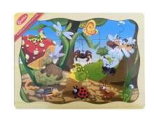 กระดานไม้,จิ๊กซอว์ไม้,ภาพตัดต่อแมลง,จิ๊กซอว์รูปสัตว์